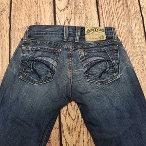 Women's Lucky Brand Lil Tahiti Jean Button Fly !!